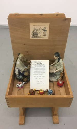Joey Chin_Contentious Behaviour_mixed media installation_2018